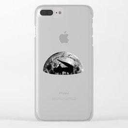 Clair de Lune Clear iPhone Case