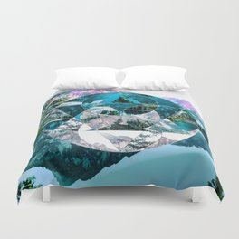 Misplaced Circle Duvet Cover