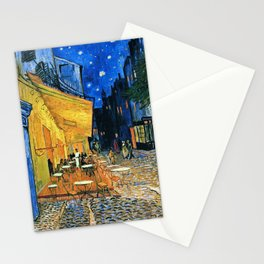 Vincent Van Gogh - Cafe Terrace at Night Stationery Cards