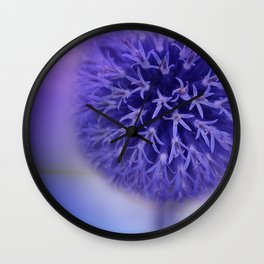 lilac on lilac -2- in portrait format Wall Clock