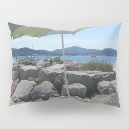 At the Bay of St. Tropez, France Pillow Sham