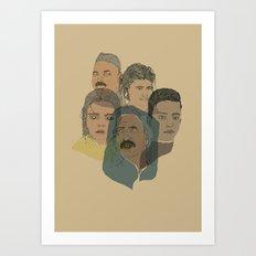Arabian Nights Portraits Art Print