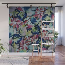 Floral Mix Up Wall Mural