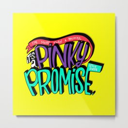 Pinky Promise (PAR101) Metal Print