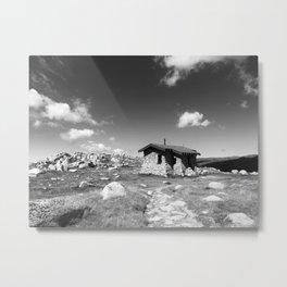 Seaman's Hut Metal Print