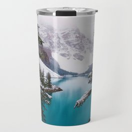 Paradise in the Mountains (Color) Travel Mug