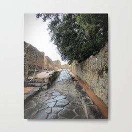 Ruins of Pompeii Metal Print