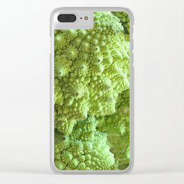 Romanesco Cauliflower - Freeky vegi Clear iPhone Case