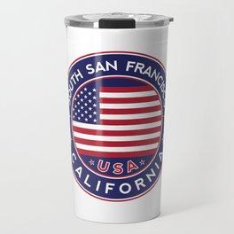South San Francisco, California Travel Mug