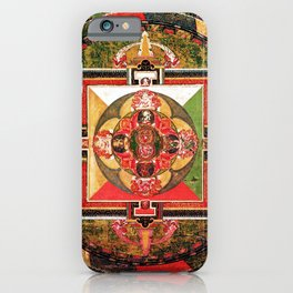 Buddhist Mandala Jungian Archetype iPhone Case