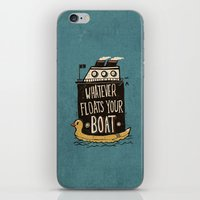 quotes iPhone & iPod Skins featuring Quotes by Ronan Lynam