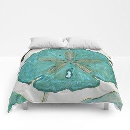 Sand Dollars Ocean Colors Comforters