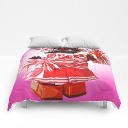 Cheerbot Pink Comforters