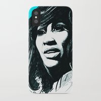 tina iPhone & iPod Cases featuring Tina Turner by ChrisGreavesCreative