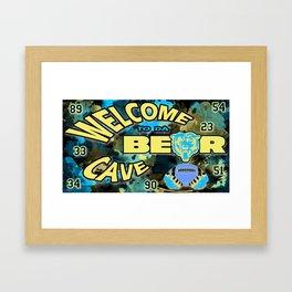 Chicago Bears Framed Art Print