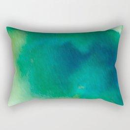 Ethereal Green Rectangular Pillow
