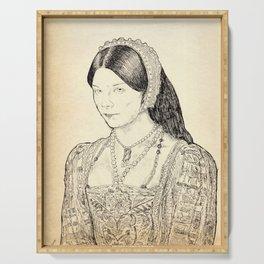 Anne Boleyn Serving Tray