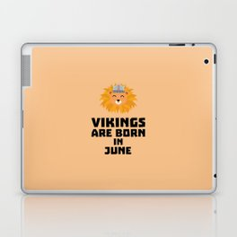 Vikings are born in June T-Shirt Dni2i Laptop & iPad Skin