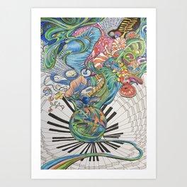 Chopin: Nocturne no 10  Art Print