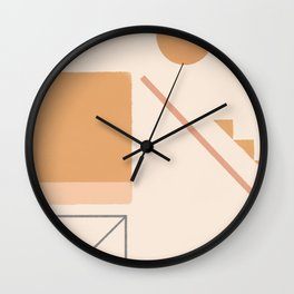 #12 Moving Space Wall Clock