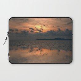 Sunset on the Gulf of Thailand Laptop Sleeve