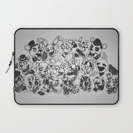 The gang's all here - Five Nights At Freddy's Laptop Sleeve