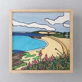 By the seaside Framed Mini Art Print
