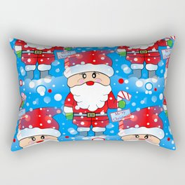 Santa Land Rectangular Pillow