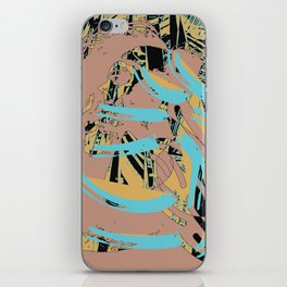 Wisp of the brush iPhone Skin