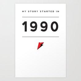 My Story Series (1990) Art Print
