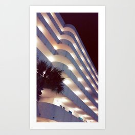 Curves in all the right places Art Print