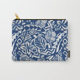 Hawaiian tribal pattern Carry-All Pouch