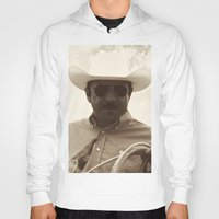 cowboy Hoodies featuring Cowboy by DistinctyDesign