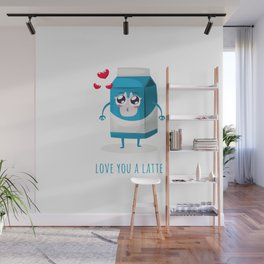 Love You A Latte Wall Mural