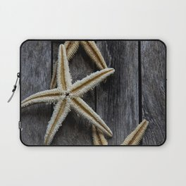 Starfishes in wooden Laptop Sleeve