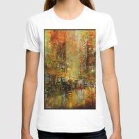 detroit T-shirts featuring An evening in Detroit by Ganech joe