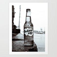 Soda nostalgia Art Print