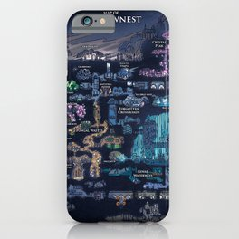Hollow Knight Map iPhone Case