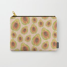 Summer Papaya  Carry-All Pouch