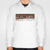 volkswagon Hoodies featuring Retired Hippies by BWooley Photo
