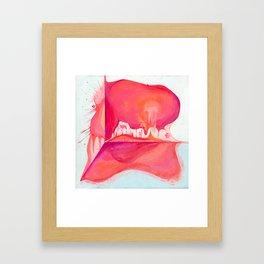 Beautiful Disaster  Framed Art Print