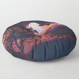 Full Moon I Floor Pillow