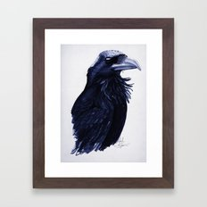 .Raven Framed Art Print