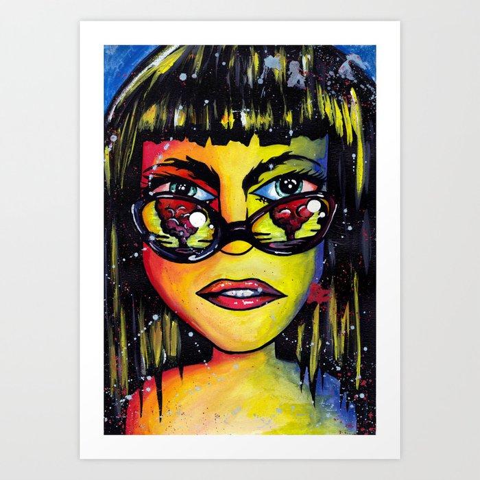 Don't get blinded Art Print