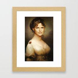 Beauty on Beauty Framed Art Print