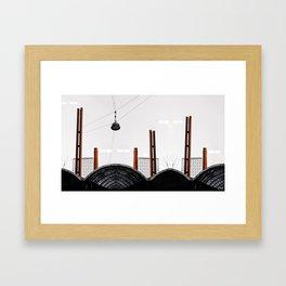WANDERING LOST Framed Art Print