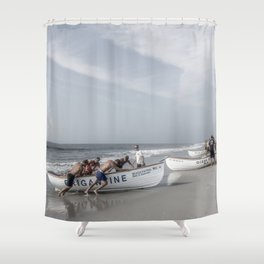 Beach Patrol, Jersey Shore Shower Curtain