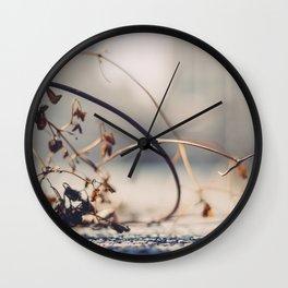 Winter Effects Wall Clock