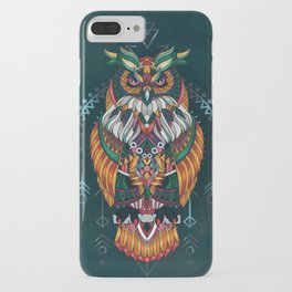 Wisdom Of The Owl King iPhone Case