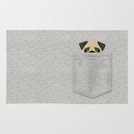 Pocket Pug Rug